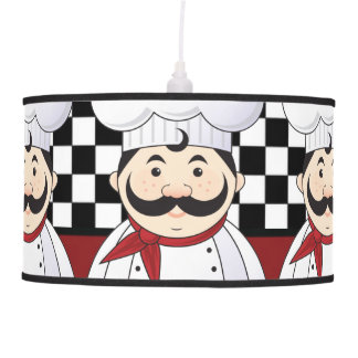 French Chef Ceiling Lamp