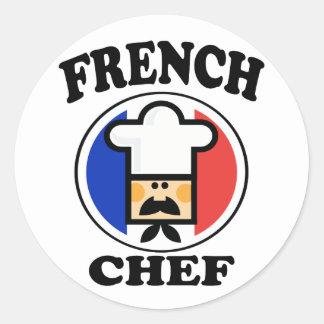 French Chef Classic Round Sticker