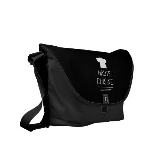 French Chef Haute Cuisine Gourmet Courier Bag
