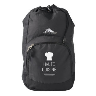 French Chef Haute Cuisine Gourmet High Sierra Backpack
