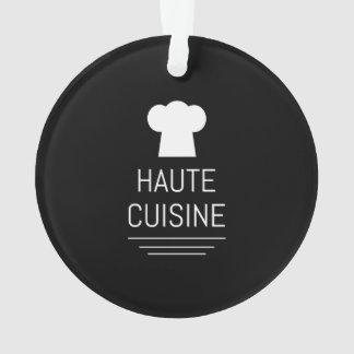 French Chef Haute Cuisine Gourmet Ornament
