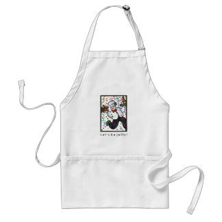 French chef Holiday apron