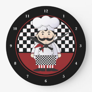 French Chef Large Clock