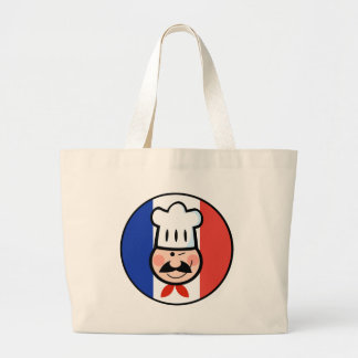 French Chef Large Tote Bag