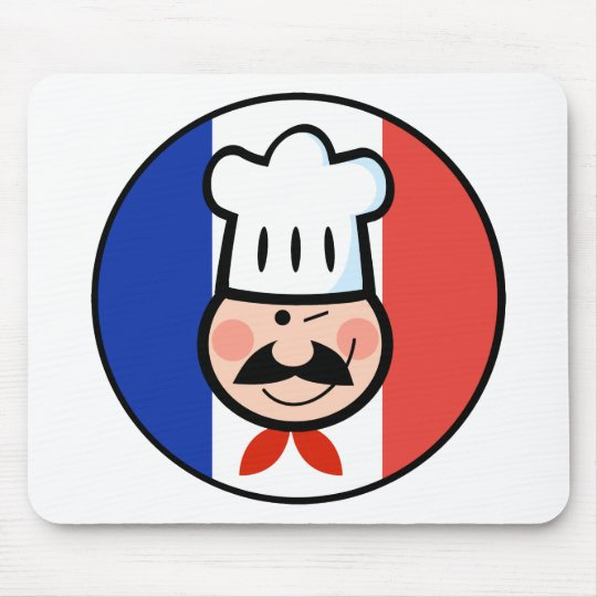 French Chef Mouse Pad