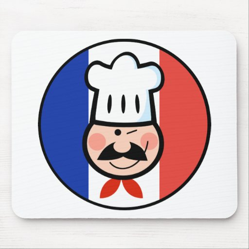 French Chef Mousepad