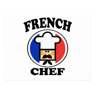 French Chef Postcard