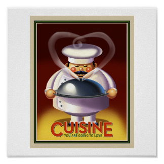 French Chef Poster