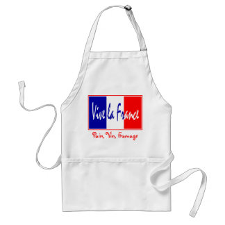 French Chef's Apron - Pain, Vin, Fromage