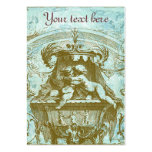 French Cherub Vintage Style Business Profile Cards Business Card