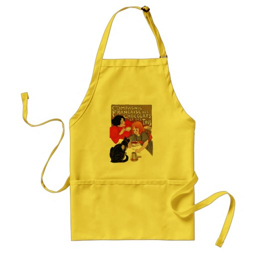 French Chocolate Party Aprons
