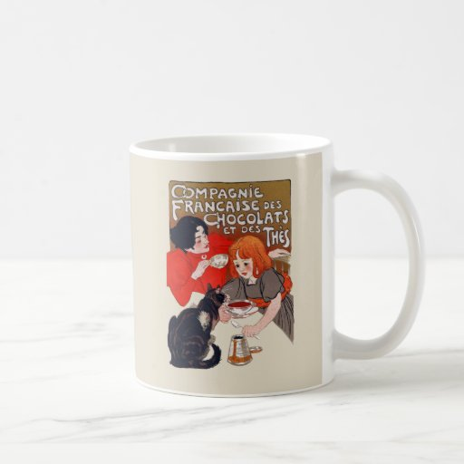 French Chocolate Party Classic White Coffee Mug