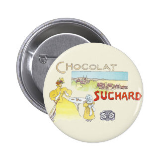 French Chocolate Vintage Candy Advertising Button