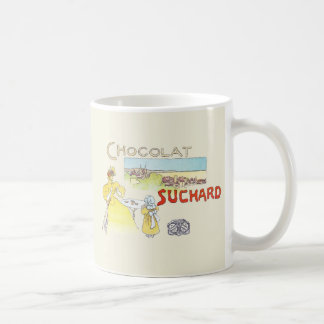 French Chocolate Vintage Candy Advertising Mugs