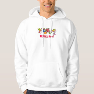 French Christmas Birds Hoodie