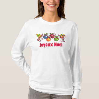 French Christmas Birds T-Shirt
