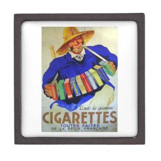 French Cigarettes Toutes Faites Jewelry Box