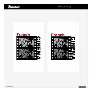 French Cinema Kindle Fire Decal