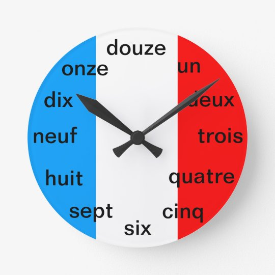 French Clock Zazzle Com