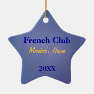 French Club, Foreign Language Club Ornaments