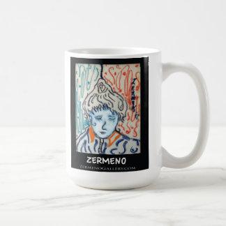 French Coffee Mug by Zermeno at ZermenoGallery
