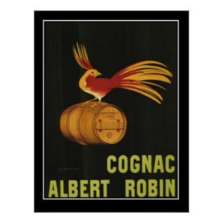 French Cognac Vintage Poster