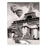 French Collage v1 Postcard