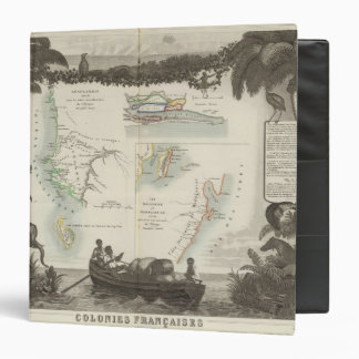 French Colonies in Africa 3 Ring Binder