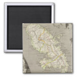 French Colonies Martinique 2 Inch Square Magnet