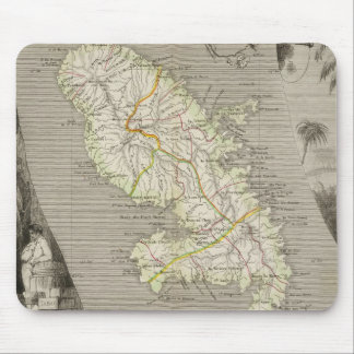 French Colonies Martinique Mouse Pad