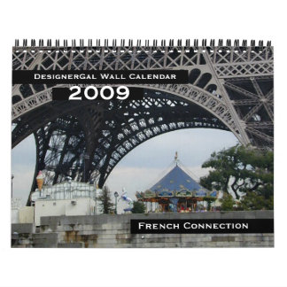 French Connection Wall Calendar