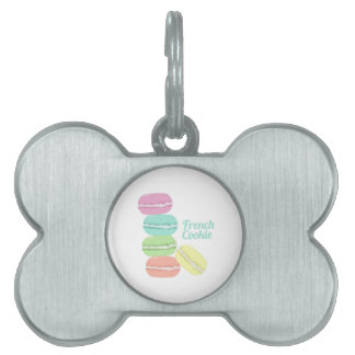 French Cookie Pet ID Tag