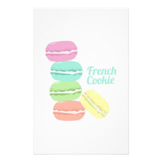 French Cookie Custom Stationery