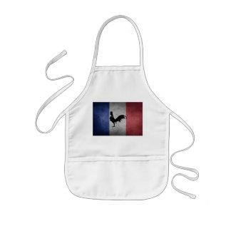 French coq kids' apron