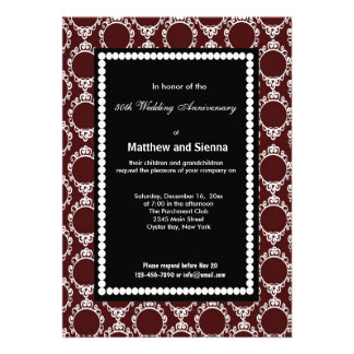 French Country Anniversary Invitations