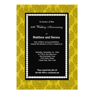 French Country Anniversary Personalized Invitation