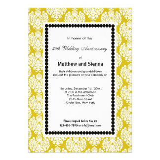 French Country Anniversary Personalized Invites