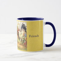 French Country Barnyard Friends Coffee Cup Mug