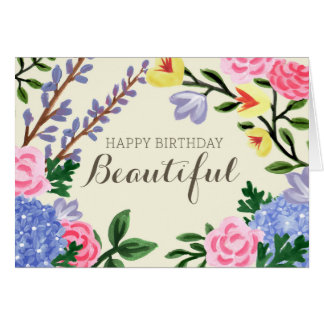 French Country Birthday Card