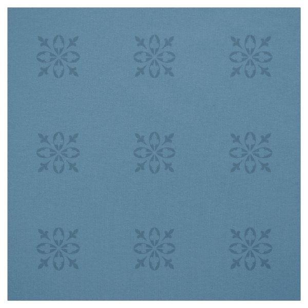 French country blue damask fabric