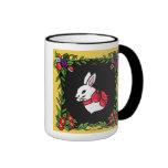 French Country Bunny Coffee Mug