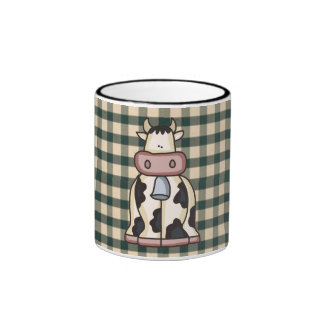 French Country Cow Coffee Cup