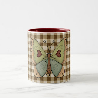 French Country Fall Autumn Butterfly Coffee Cup Mu