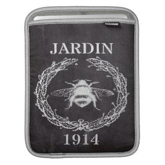 french country farmhosue chalkboard vintage bee iPad sleeve