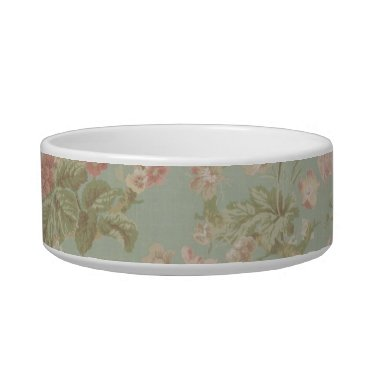 Beach Themed french country floral nautical girly anchor bowl