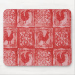 French Country Grannies Kitchen Tablecloth Mouse Pad