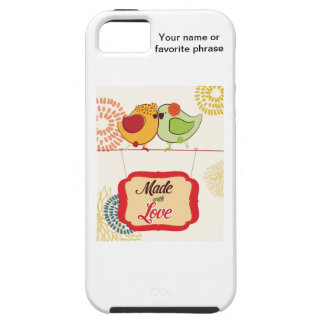 French Country Kitchen - Bird on floral. iPhone 5 Cover