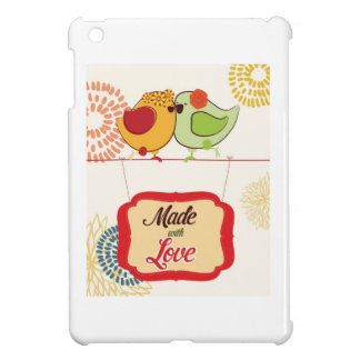 French Country Kitchen - Bird on floral. iPad Mini Cases