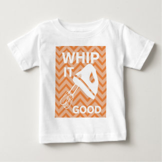 French Country Kitchen - Hand mixer on chevron. Baby T-Shirt