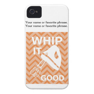 French Country Kitchen - Hand mixer on chevron. Case-Mate iPhone 4 Case